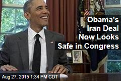 Obama's Iran Deal Now Looks Safe in Congress