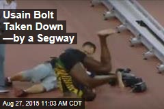 Usain Bolt Taken Down —by a Segway