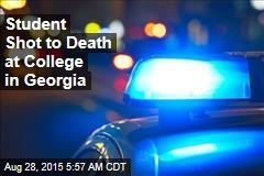Student Shot to Death at College in Georgia