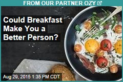 Could Breakfast Make You a Better Person?