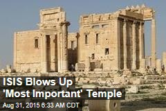 ISIS Blows Up Major Temple