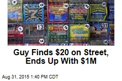 Guy Finds $20 on Street, Ends Up With $1M