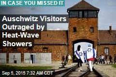 Auschwitz Visitors Outraged by 'Holocaust Gimmick'