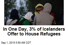 Icelanders Ask to Be Sent More Refugees