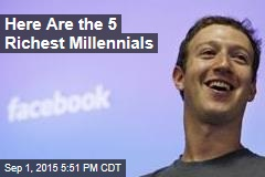 Here Are the 5 Richest Millennials