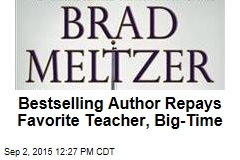 Bestselling Author Repays Favorite Teacher, Big-Time