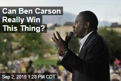 Can Ben Carson Really Win This Thing?