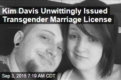 Kim Davis Unwittingly Issued Transgender Marriage License
