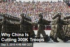 China Holds Huge Military Parade, Pledges to Cut Army