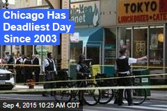 Chicago Has Deadliest Day Since 2003