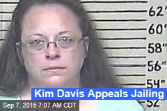 Kim Davis Appeals Jailing
