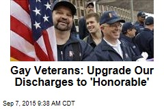 Gay Veterans: Upgrade Our Discharges to 'Honorable'