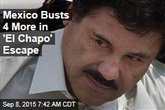 Mexico Busts 4 More in 'El Chapo' Escape