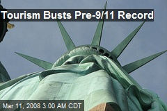 Tourism Busts Pre-9/11 Record