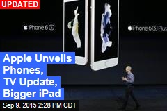 Apple Unveils Bigger iPad