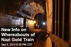 New Info on Whereabouts of Nazi Gold Train