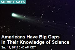 Americans Have Big Gaps in Their Knowledge of Science