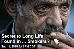 Secret to Long Life Found in ... Smokers?