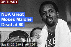 NBA Great Moses Malone Dead at 60