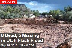 7 Dead, 6 Missing in Utah Flash Flood