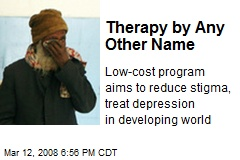 Therapy by Any Other Name