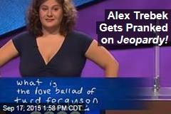 Alex Trebek Gets Pranked on Jeopardy!
