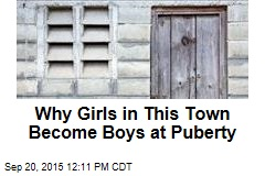 In This Town, Girls Become Boys at Puberty