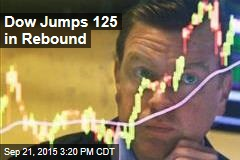 Dow Jumps 125 in Rebound