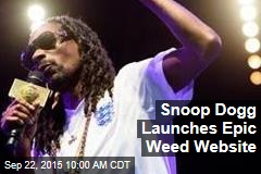 Snoop Dogg Launches Epic Weed Website