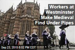Workers at Westminster Make Medieval Find Under Pipes
