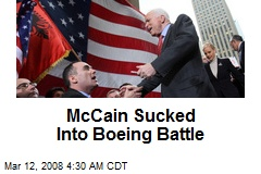 McCain Sucked Into Boeing Battle