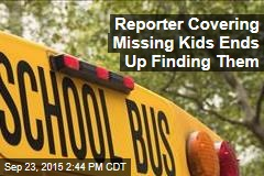 Reporter Covering Missing Kids Ends Up Finding Them