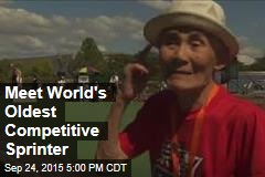 Meet World's Oldest Competitive Sprinter
