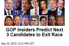 GOP Insiders Predict Next 3 Candidates to Exit Race