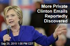 More Private Clinton Emails Reportedly Discovered