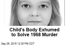 Child's Body Exhumed to Solve 1968 Murder