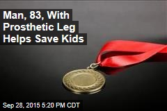 Man, 83, With Prosthetic Leg Helps Save Kids