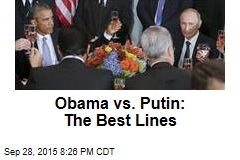 Obama vs. Putin: The Best Lines