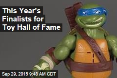 This Year's Finalists for Toy Hall of Fame