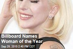 Billboard Names Woman of the Year