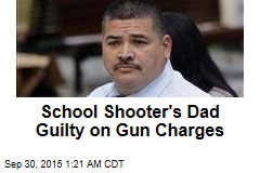 School Shooter's Dad Guilty on Gun Charges