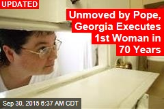 Georgie Executes First Woman in 70 Years