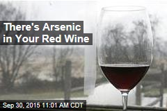 There's Arsenic in Your Red Wine