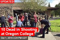 10 Dead in Shooting at Oregon College