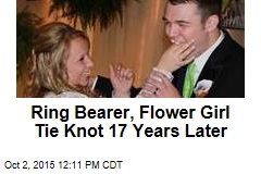 Ring Bearer, Flower Girl Tie Knot 17 Years Later