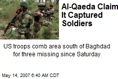 Al-Qaeda Claims It Captured Soldiers