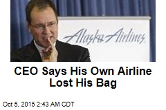 CEO Says His Own Airline Lost His Bag