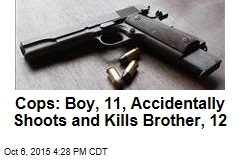 Cops: Boy, 11, Accidentally Shoots and Kills Brother, 12