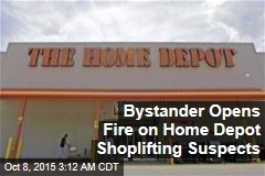 Bystander Opens Fire on Fleeing Shoplifters