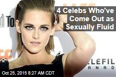 4 Celebs Who've Come Out as Sexually Fluid